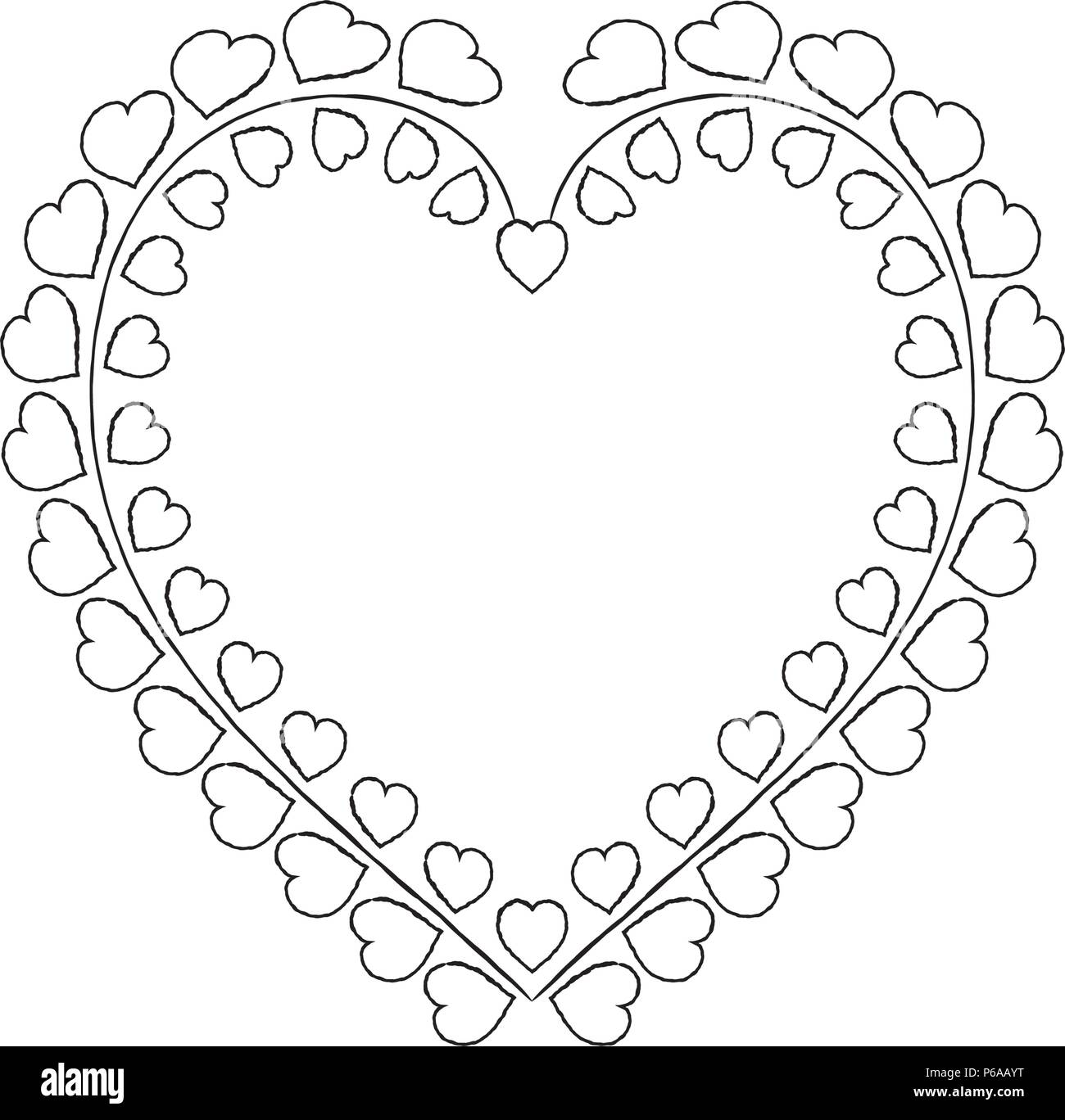 laurel wreath icon vector template stock vector art illustration