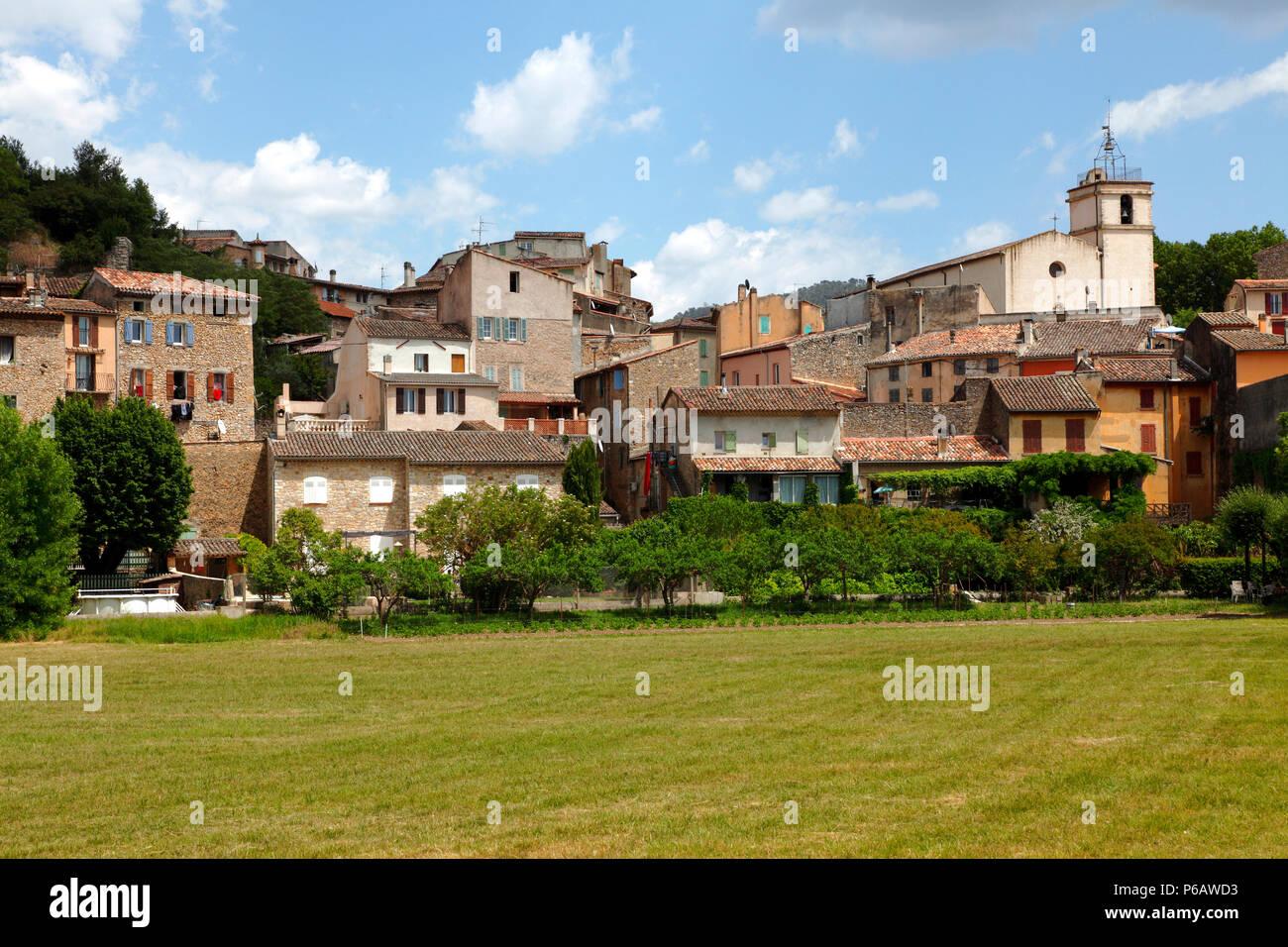 France, Provence Alpes Cote d'Azur, department of Var (83), Bras village (Saint Maximin la sainte Baume area) - Stock Image