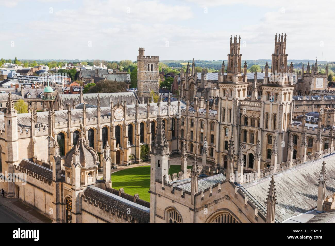 England, Oxfordshire, Oxford, All Souls College Stock Photo