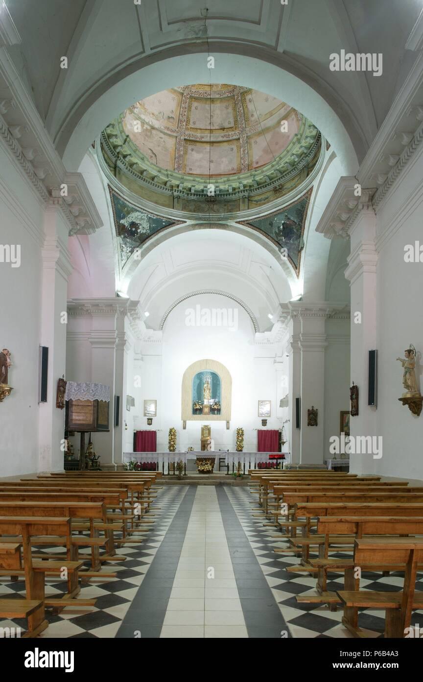 Ermita De Nuestra Senora De La Cabeza Interior Stock Photo