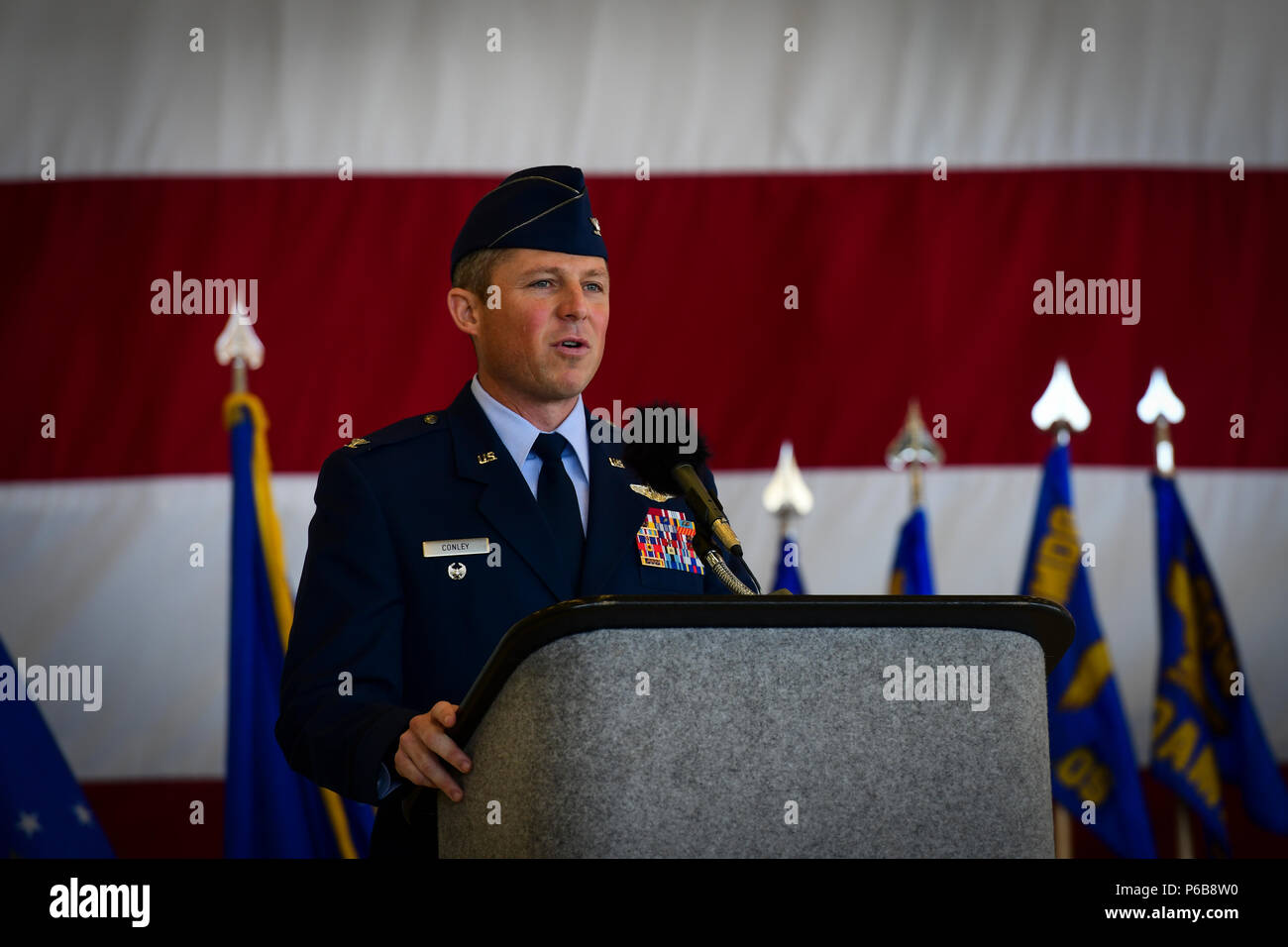 u s air force col mike conley commander of the 1st special