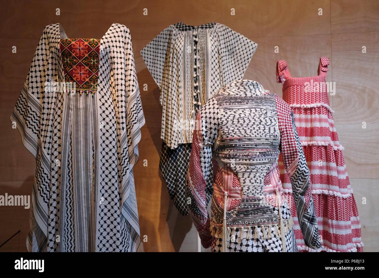 Clothing By Israeli Fashion Designers Displayed At The New Exhibition Entitled Fashion Statements Decoding Israeli Dress