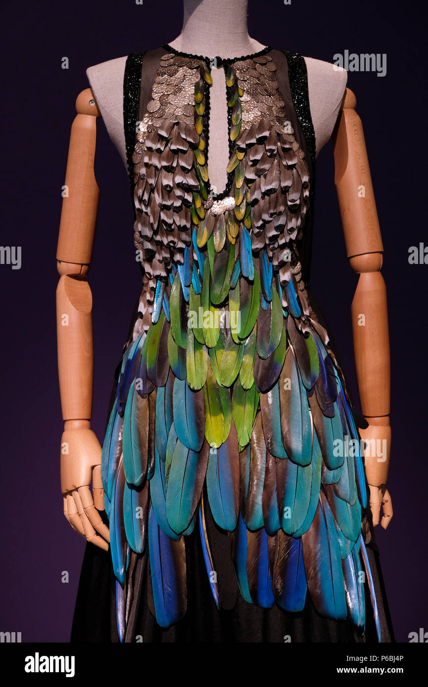 Dress By Israeli Fashion Designer Liora Taragan Born 1974 Displayed At The New Exhibition Entitled Fashion Statements Decoding Israeli Dress Which Surveys A Century Of Dress In Israel From The Late
