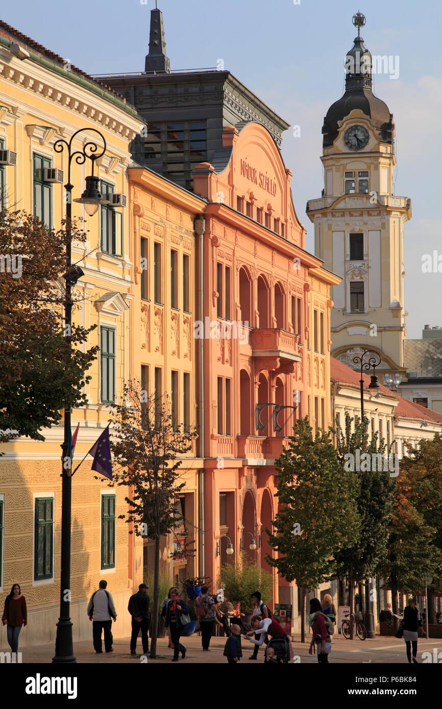 Hungary, Pecs, Nador Szalló, hotel, - Stock Image