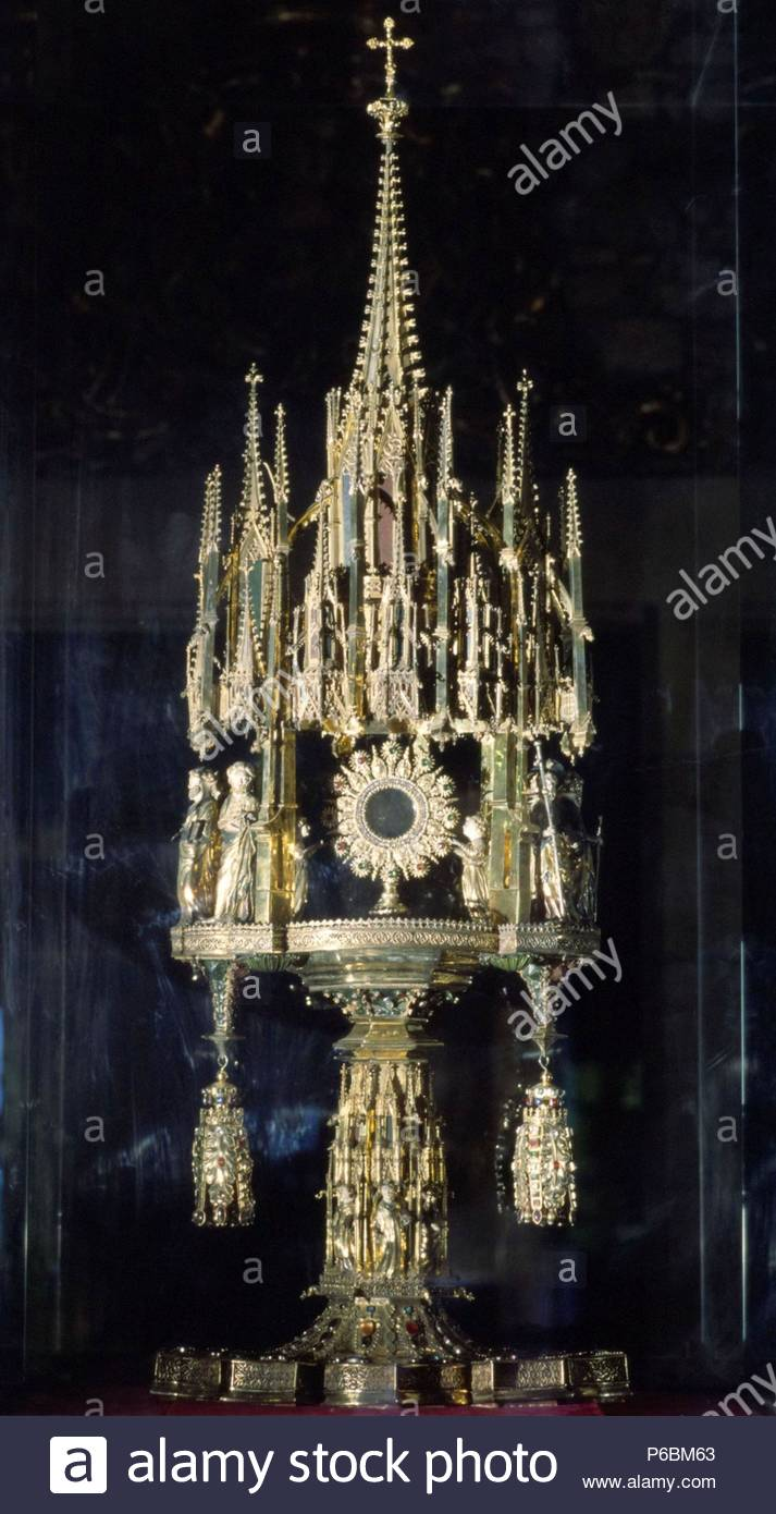 Corpus Monstrance Girona Cathedral 15th Century Museum Catedral