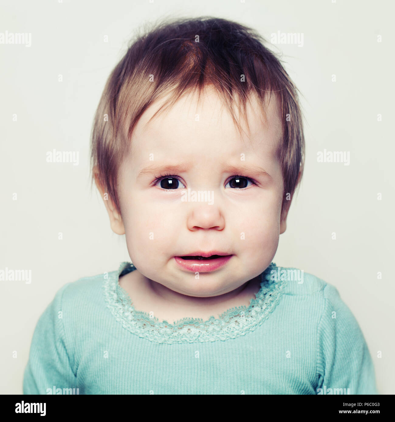 aa6b9f28d Sad Baby Stock Photos   Sad Baby Stock Images - Alamy