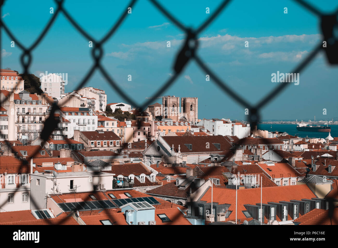 View of Lisbon - Stock Image