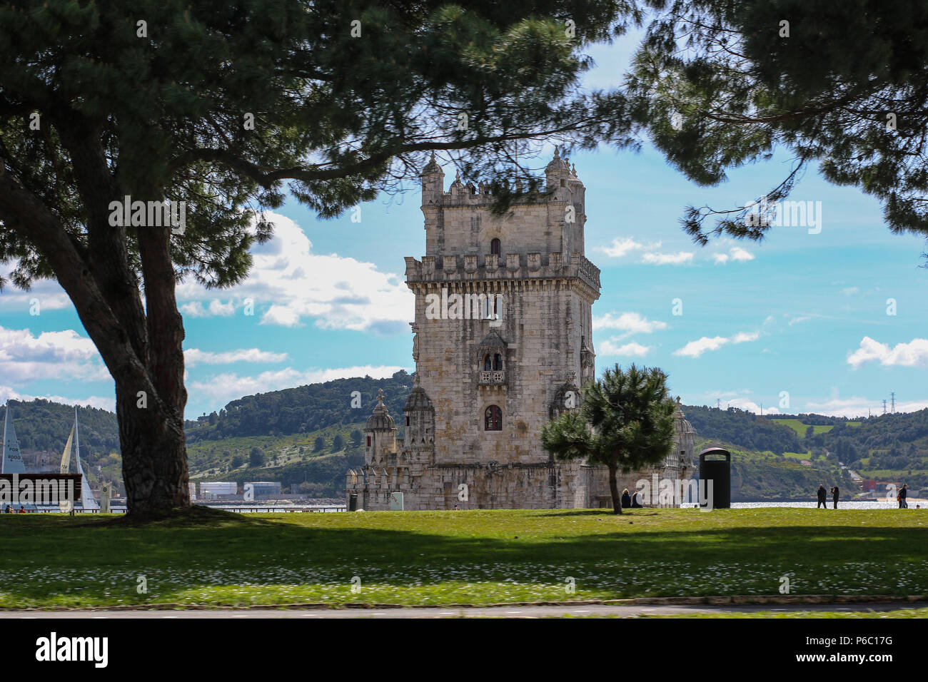 Belem Tower - Stock Image