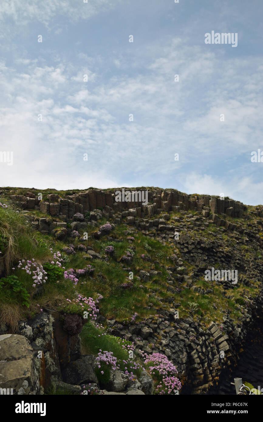 View of the Treshnish Isles - Stock Image