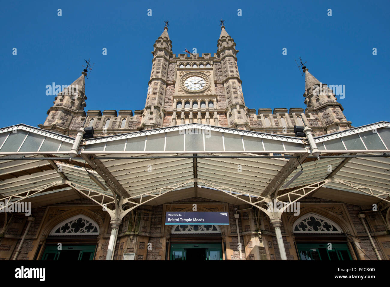 Temple Meads station, Bristol. Stock Photo