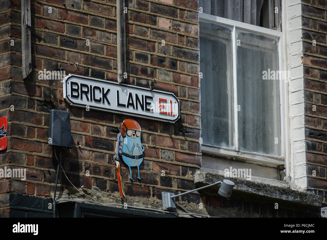 Street sign in London, England - Stock Image