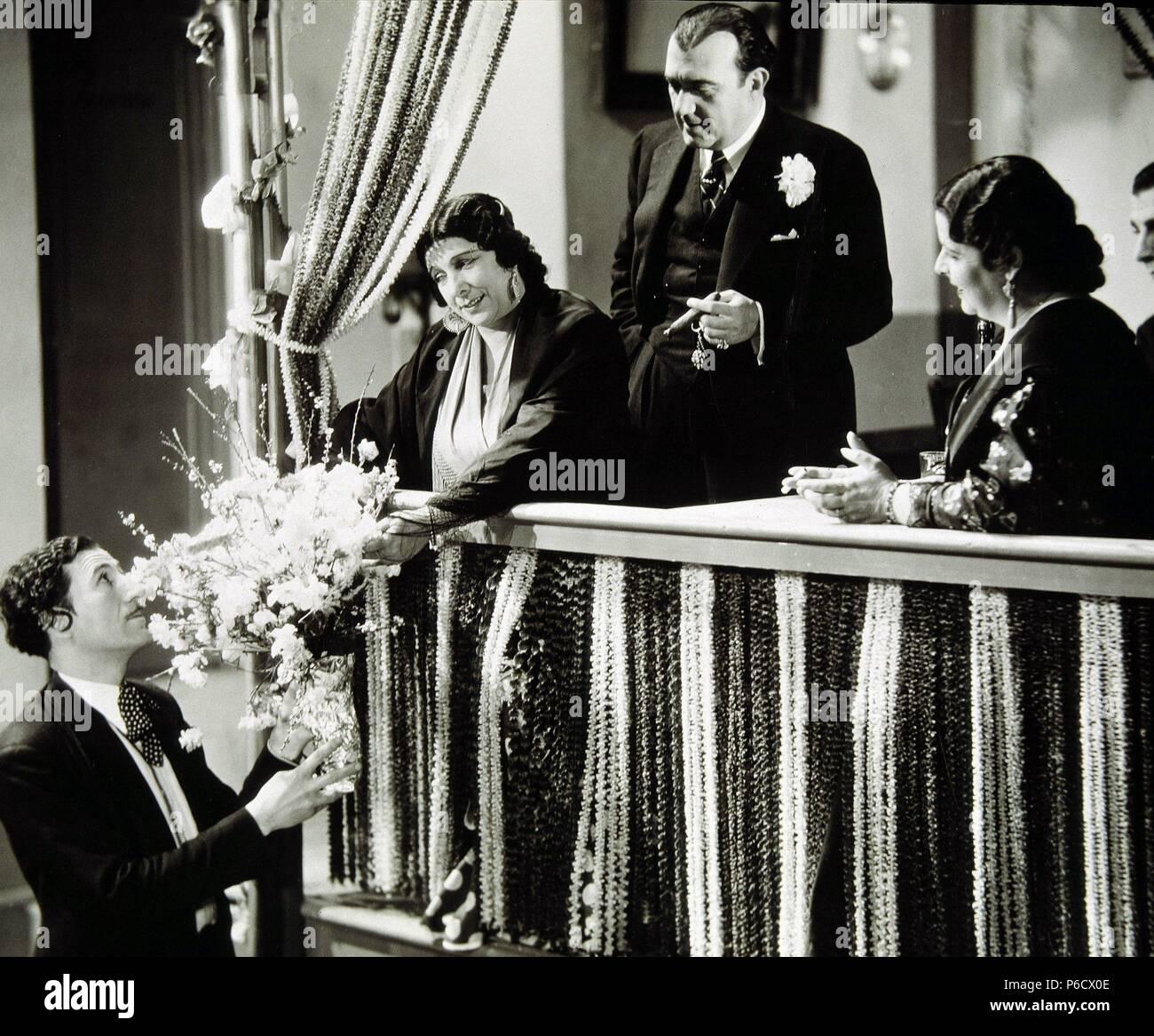 Pelicula Maria De La O 1936 Basada En La Novela Homonima De Rafael De Leon Director Francisco Elias Actores Pastora Imperio Stock Photo Alamy