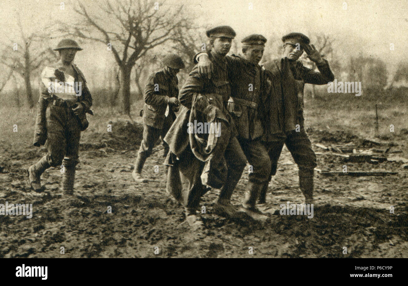 world war i, wounded people, ww1, wwi, world war one - Stock Image