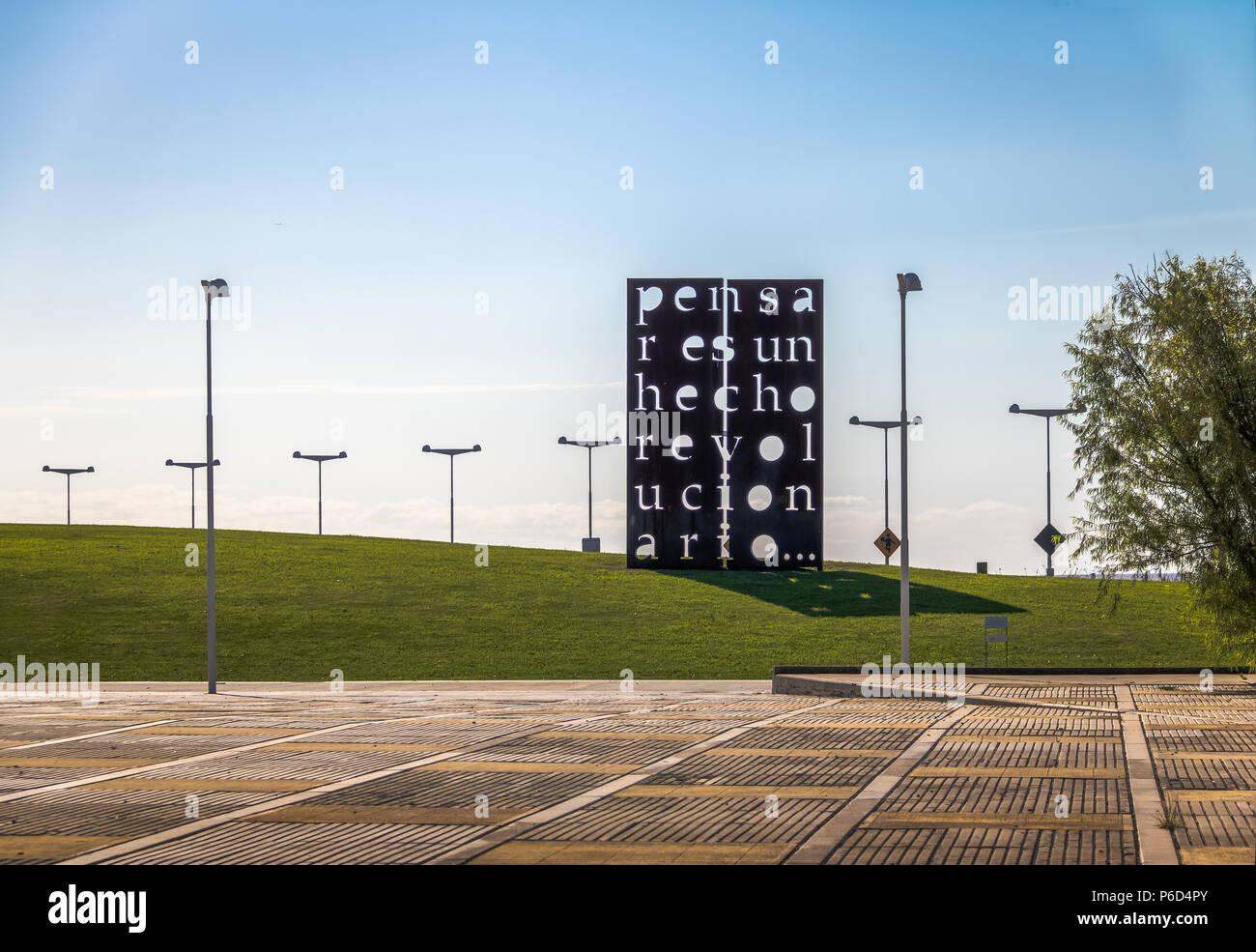 Parque De La Memoria Memory Park Park With Monuments Dedicated To
