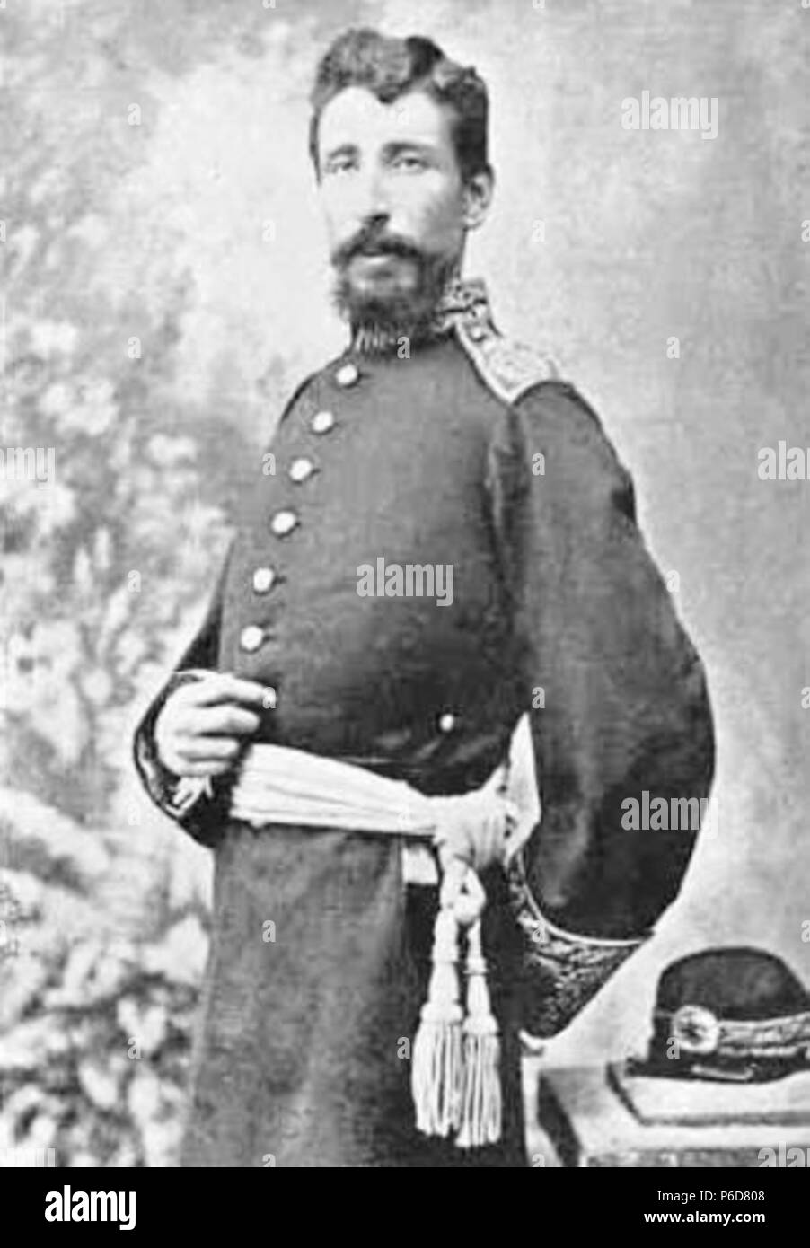Español: General Venancio Barrios; hijo de Justo Rufino Barrios. 1885 79  Venanciobarrios -