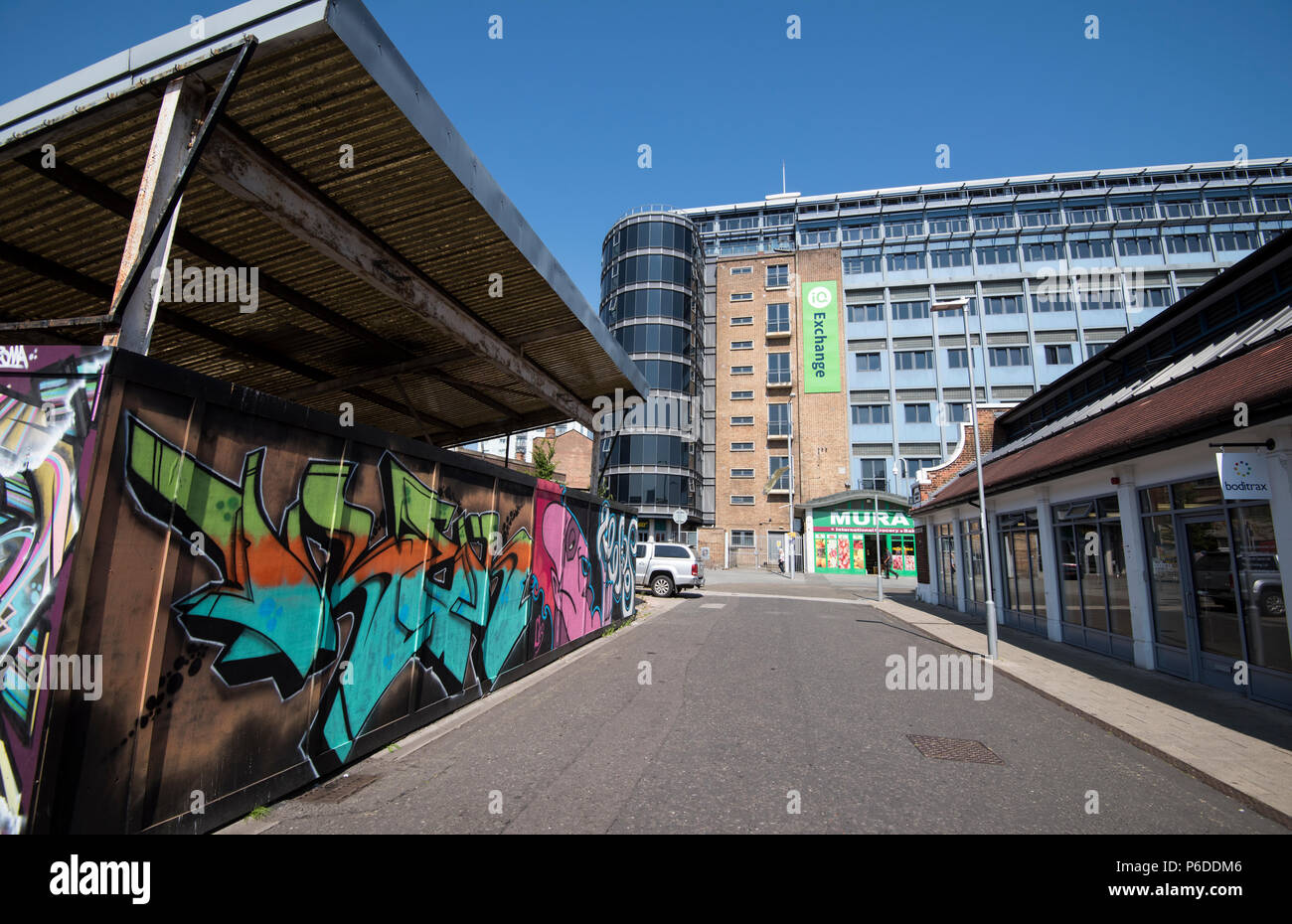 Sneinton Market, Nottingham City Nottinghamshire England UK - Stock Image