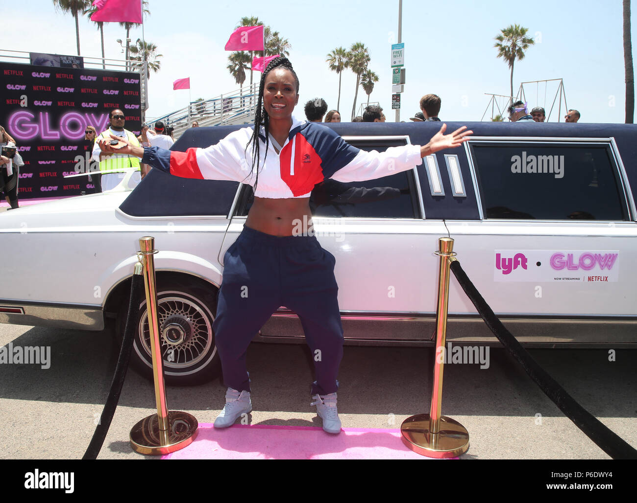 VENICE, CA - JUNE 29: Sydelle Noel, at the Cast Of Netflix's