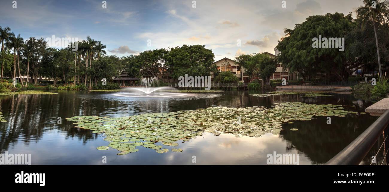 Fountain Naples Florida Stock Photos & Fountain Naples