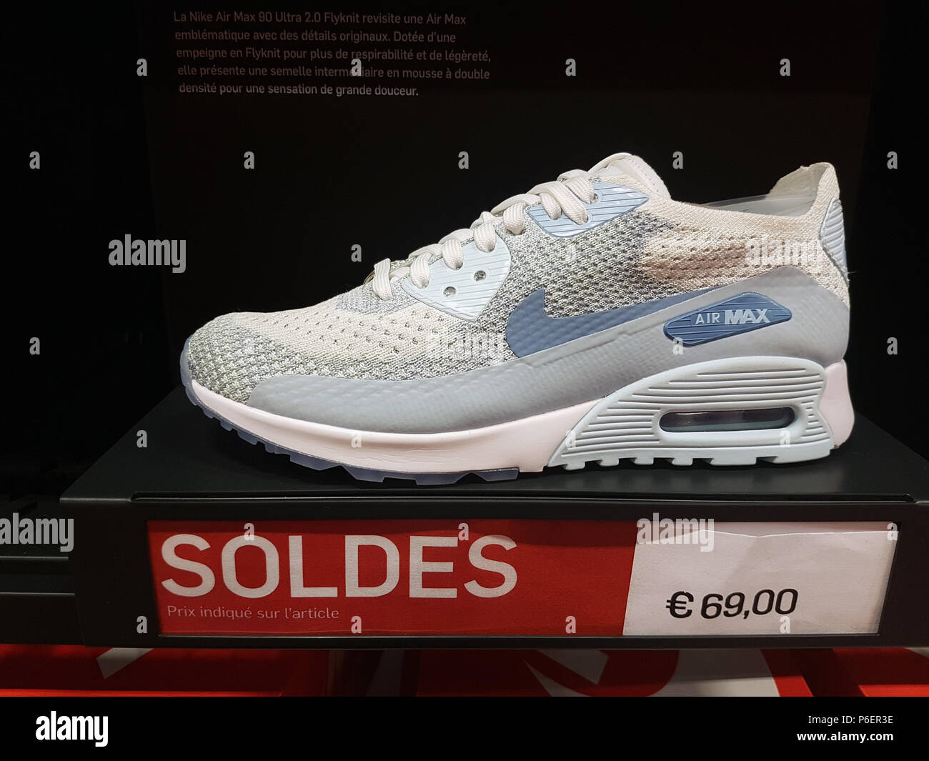 la meilleure attitude 75052 190b6 Villefontaine, France - July 29 2018: Nike Air Max Shoe On ...