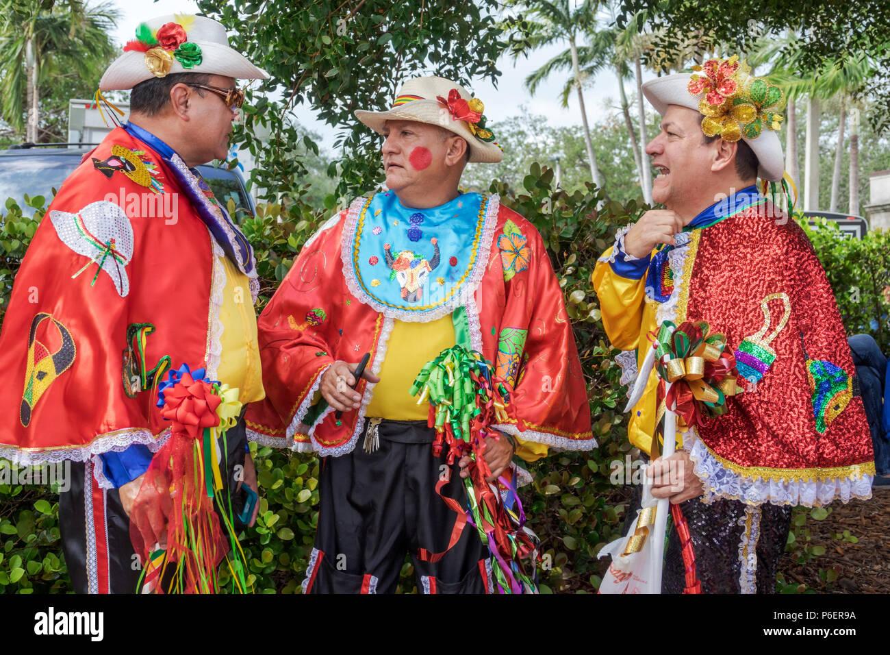 4e668bb95 Miami Florida Coral Gables Hispanic Cultural Festival Latin American event  dance group dancer performer Colombian typical costume Baile del Garabato B