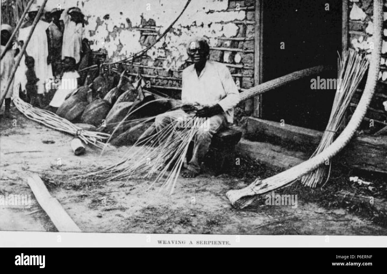 Español: Grabado del libro Guatemala, the land of quetzal de William T. Brigham, publicado en 1887. Caribes de Livingston, Izabal en 1884. 1884 50 Guatemala land quetzal Brigham 1887 15 Stock Photo