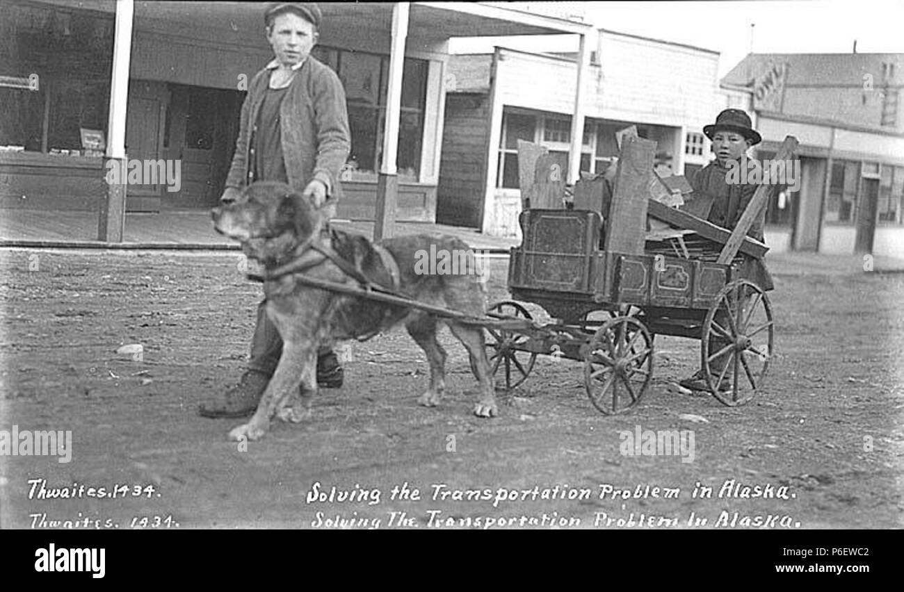 Pulling Cart Black and White Stock Photos & Images - Alamy