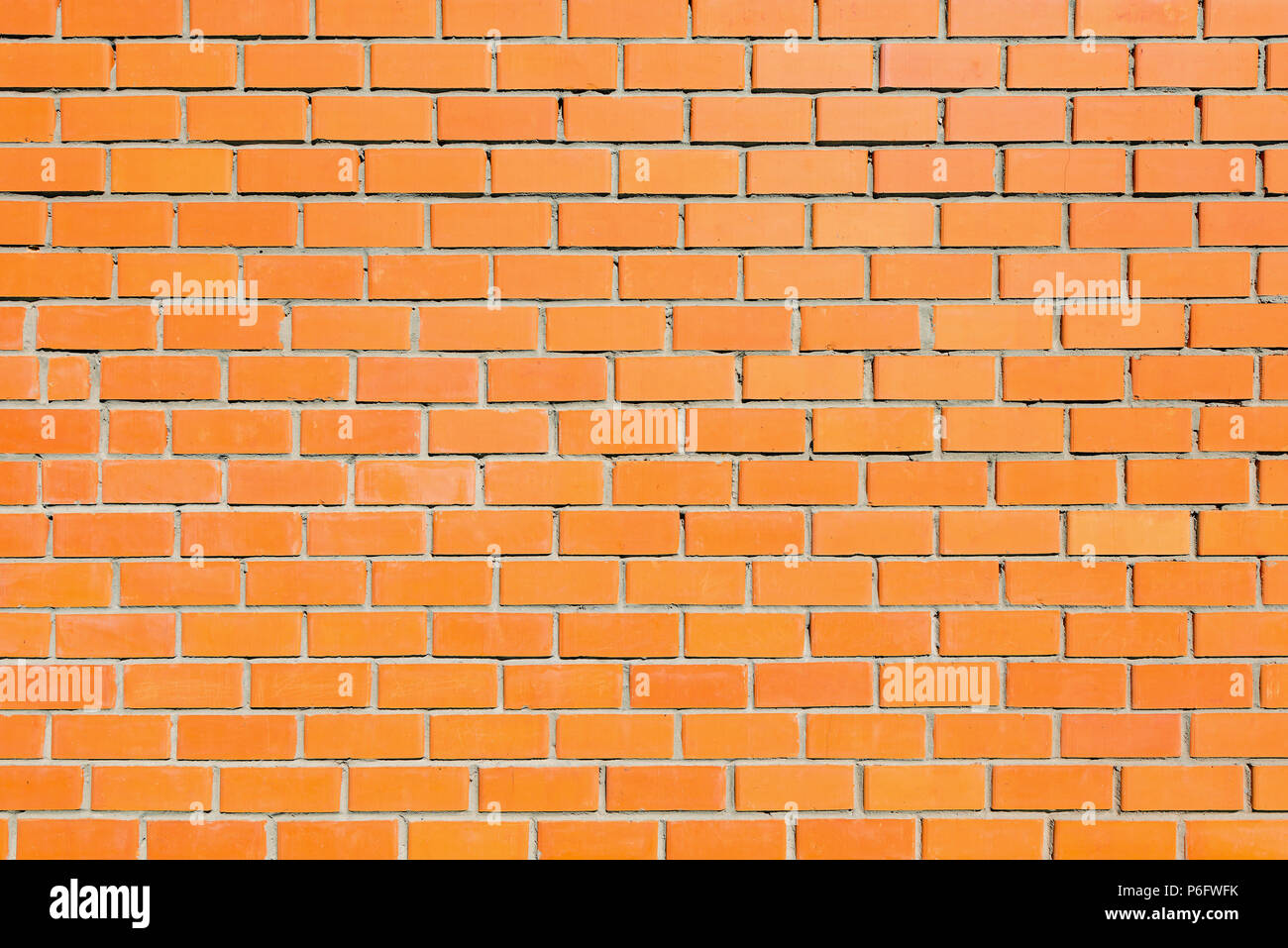 Red brick wall background. - Stock Image