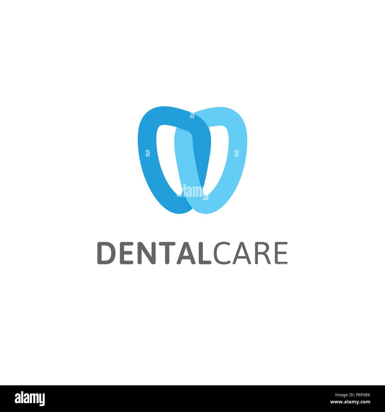 Dental care icon dentist clinic vector logo template abstract dentist clinic vector logo template abstract stylized tooth modern logotype for stomatology linear knot stylized maxwellsz