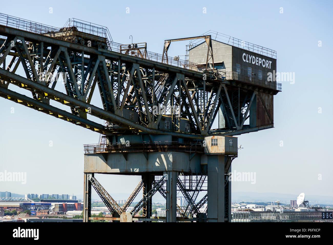 Finnieston crane, Anderston, Glasgow, Scotland - Stock Image