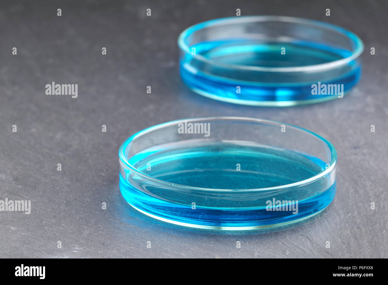 Copper Sulphate Solution Stock Photos & Copper Sulphate