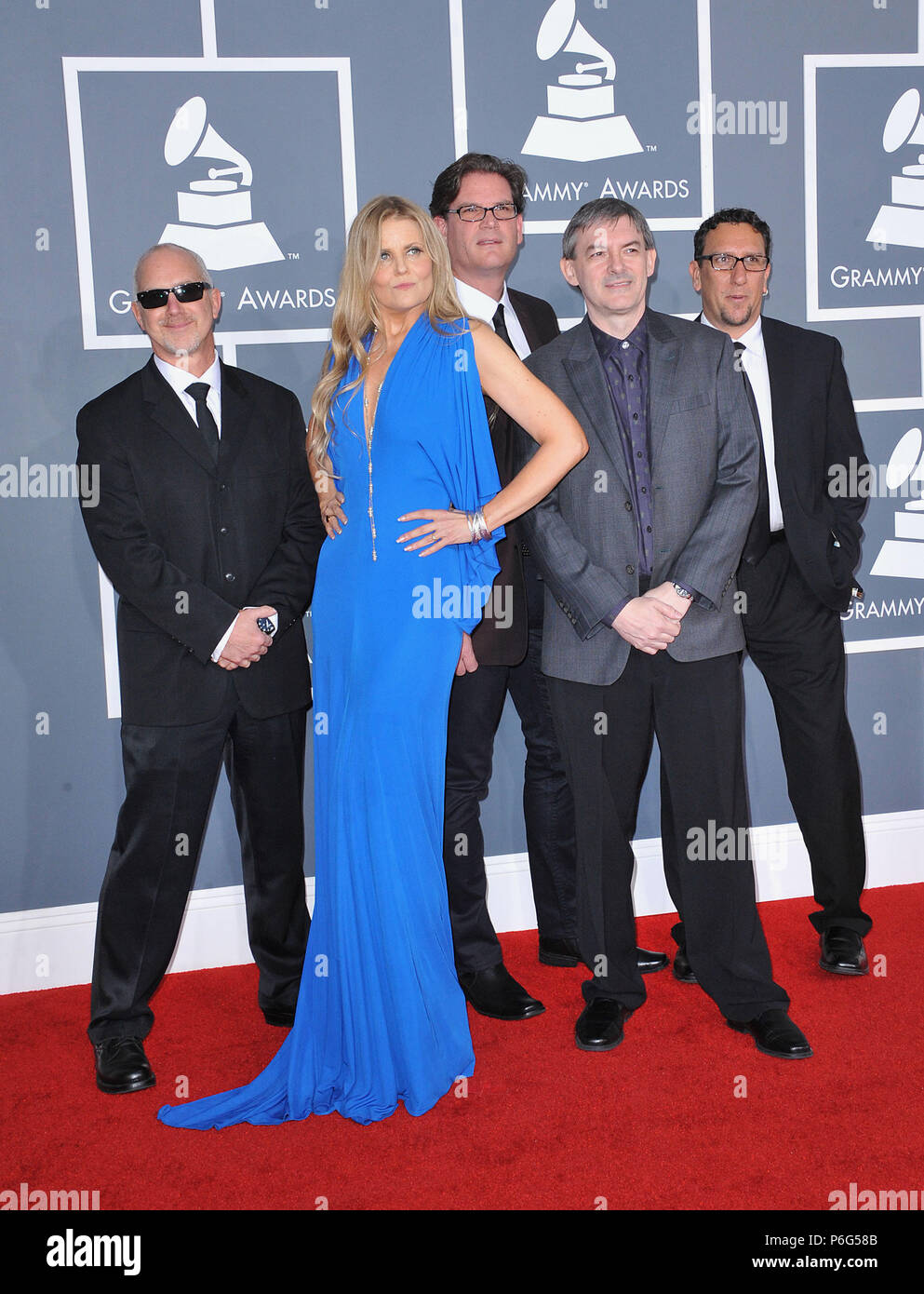 Tierney Sutton Band 74 At The 54th Annual Grammy Awards 2012 At The Staples Center In Los Angeles Tierney Sutton Band 74 Event In Hollywood Life California Red Carpet Event Usa