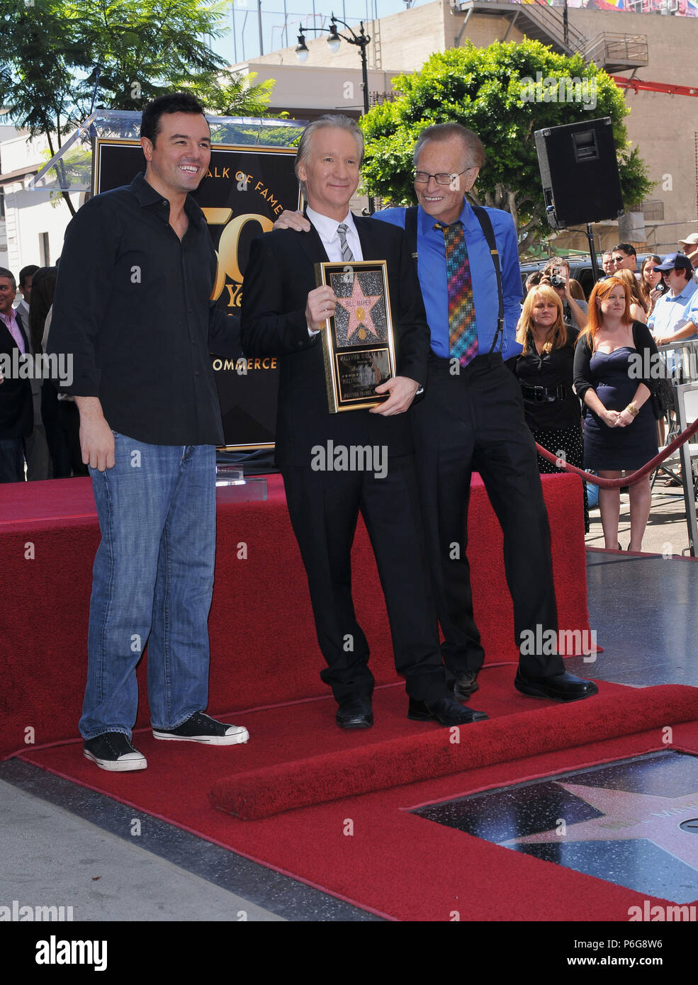 Bill Maher Honored with a Star on the Hollywood Walk Of Fame