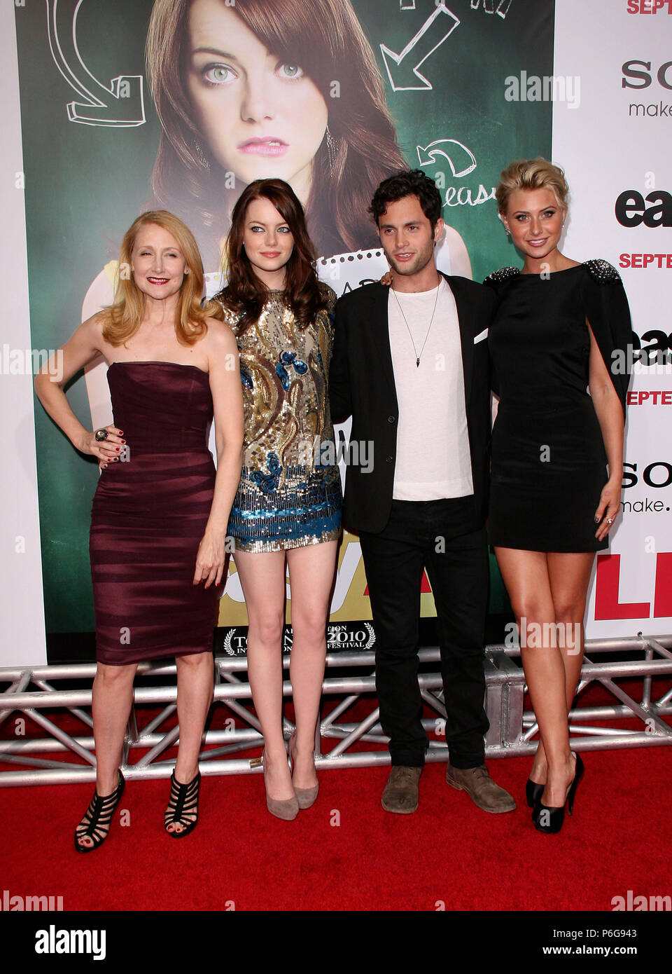 Easy A cast Easy a Premiere at the Chinese Theatre In Los