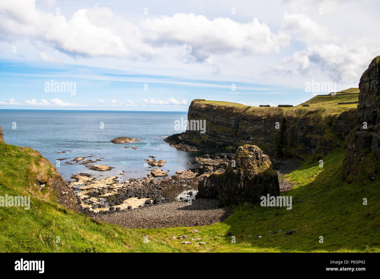 Dunluce County Antrim Northern Ireland - Stock Image