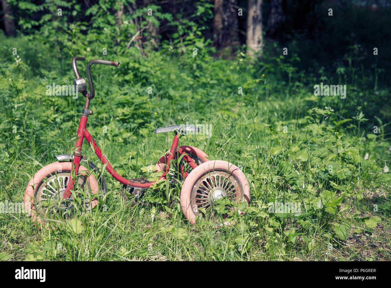 Vintage Tricycle High Resolution Stock Photography And Images Alamy