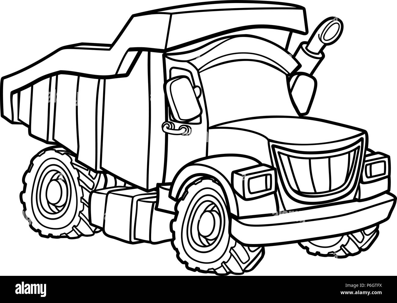 tipper lorry black and white stock photos images alamy 1955 Ford Popular dump truck stock image