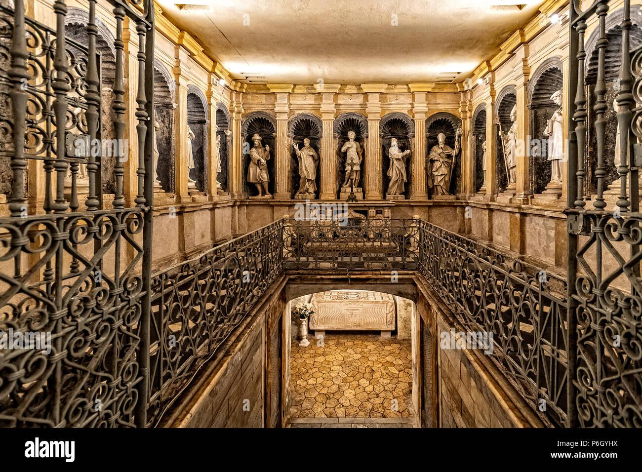 Italy Sardinia Porto Torres Basilica Di San Gavino San