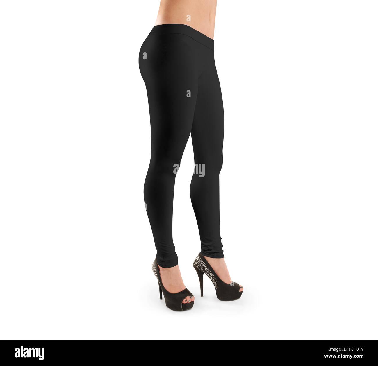 Women wearing black nylons-5959
