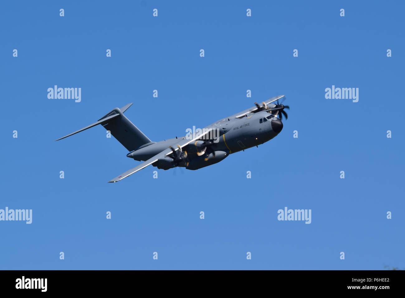 ZM418 RAF Airbus A400M Atlas - Stock Image