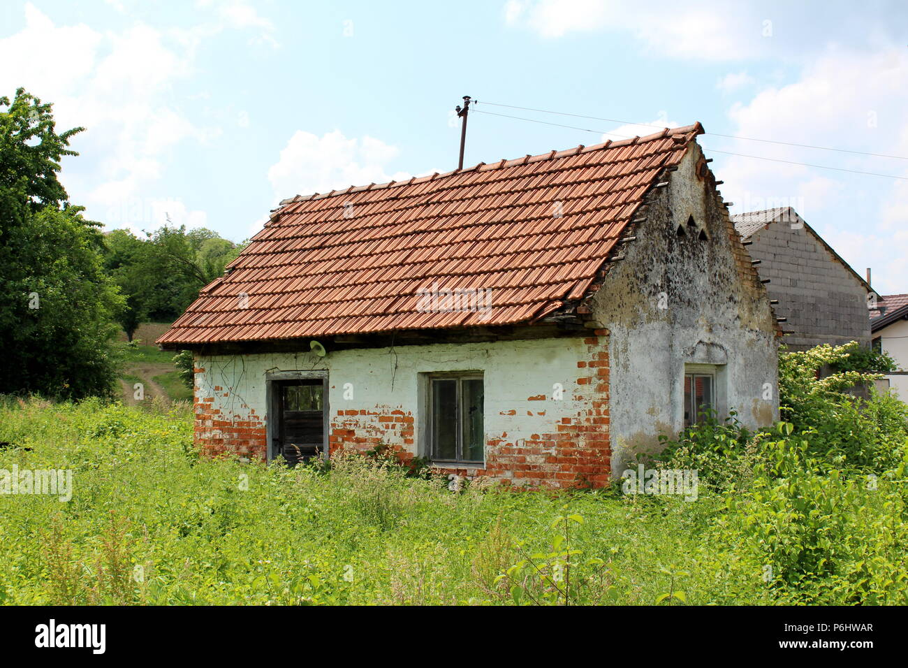 Missing Roof Tiles High Resolution Stock Photography And Images Alamy