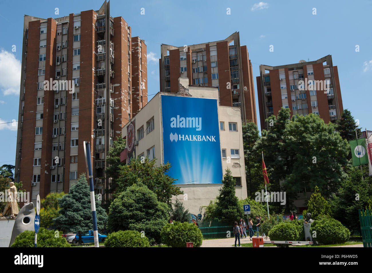 Skopje, Republic of Macedonia, Stock Photo