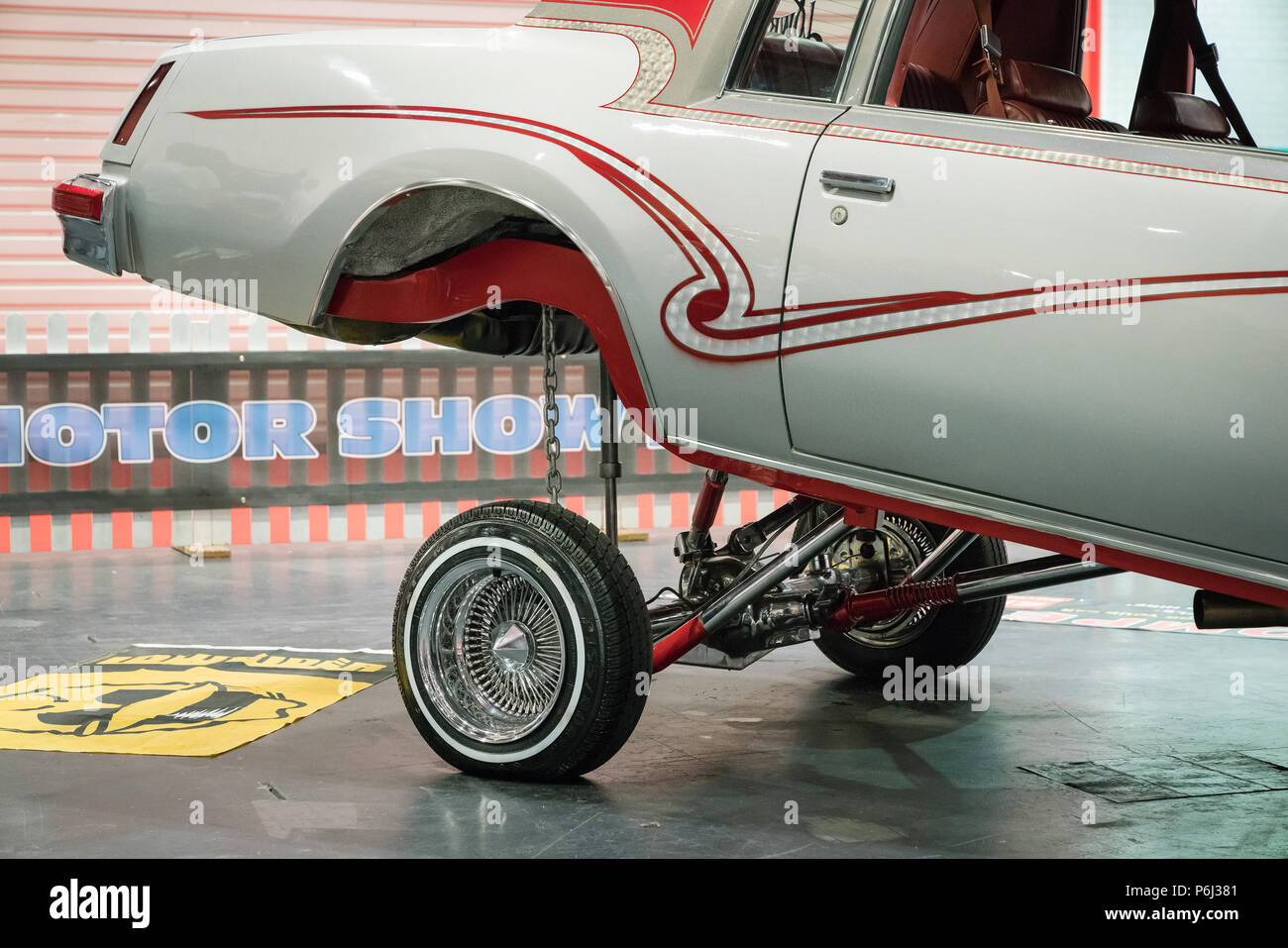 Lowrider Car Vintage Stock Photos Lowrider Car Vintage Stock - San diego lowrider car show 2018