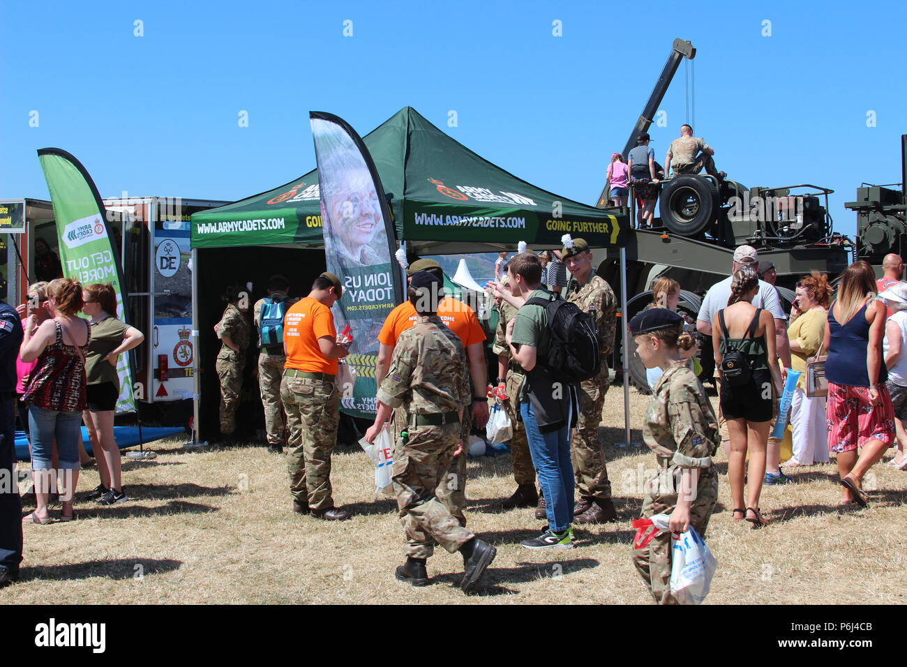 Armed Forces Day 2018, Llandudno, Wales - Stock Image