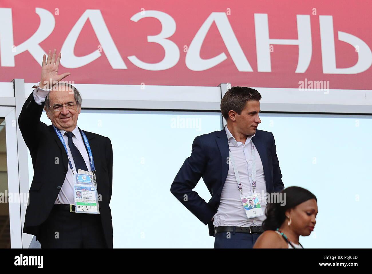 noel 2018 france Kazan, Russia. 30th June, 2018. KAZAN, RUSSIA   JUNE 30, 2018  noel 2018 france