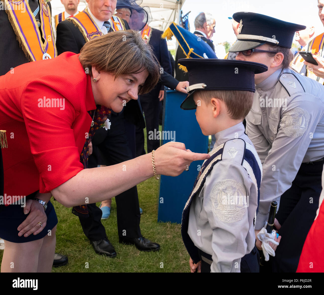Image result for arlene at OO march in scotland