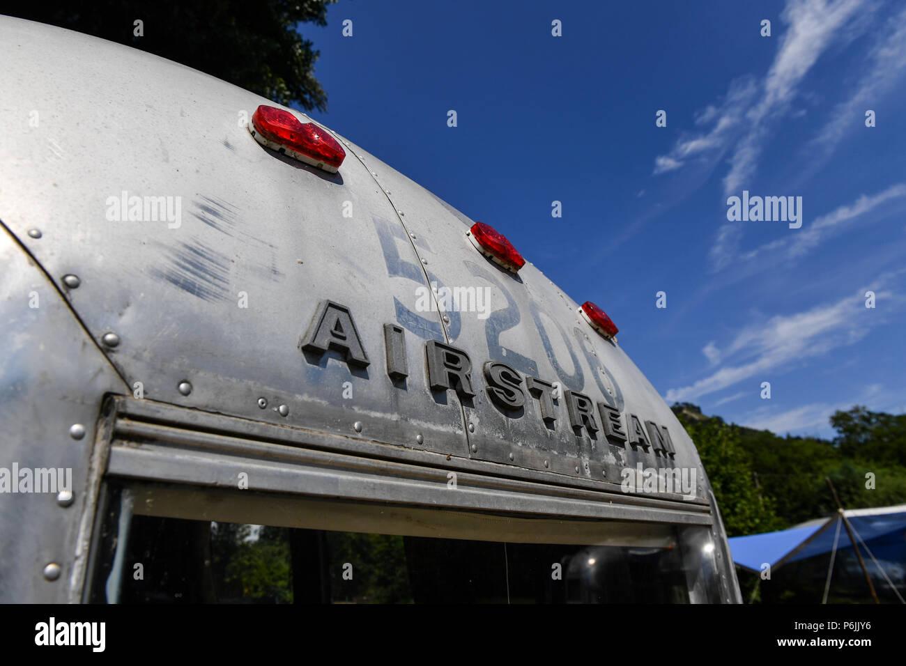 Airstream Trailers Stock Photos & Airstream Trailers Stock