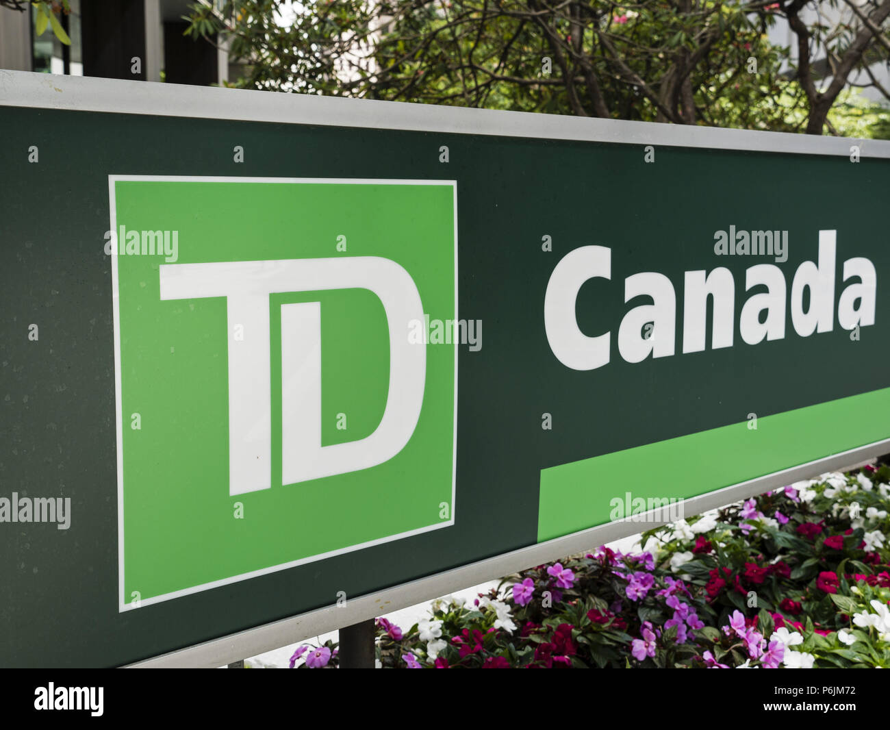 Td Canada Trust Stock Photos Images Alamy Wiring Money Internationally Vancouver British Columbia 25th June 2018 A Sign For