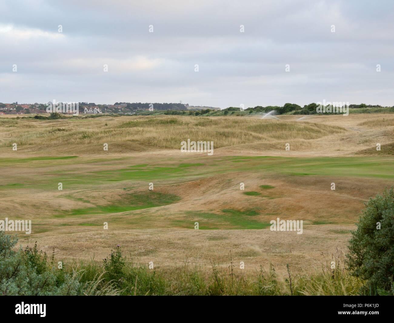 Hunstanton Golf Club - Stock Image
