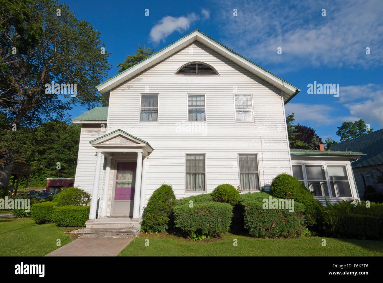 House in Stockbridge, Berkshire County, Massachusetts, USA - Stock Image