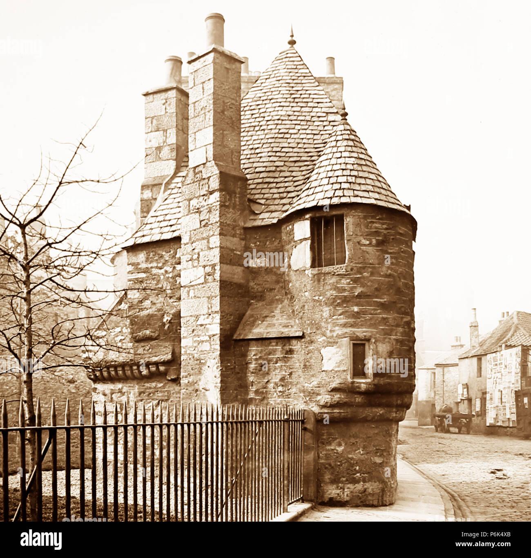 Queen Mary's Bath House, Edinburgh, Victorian period - Stock Image